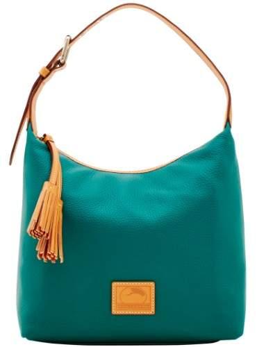 Dooney & Bourke Patterson Leather Paige Sac Shoulder Bag - LEAF - STYLE