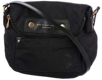 Pre Owned At Therealreal Marc By Jacobs Leather Trimmed Nylon Crossbody Bag