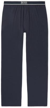 HUGO BOSS Stretch-Micro Modal Pyjama Trousers - Men - Blue