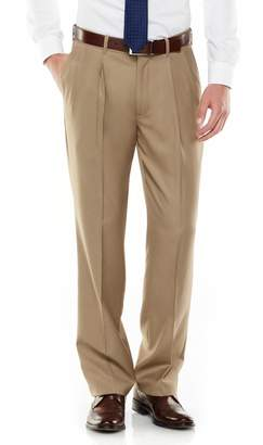 DAY Birger et Mikkelsen Men's Axist Ultra Series Fancy Straight-Fit Solid No-Iron Performance Pleated Dress Pants