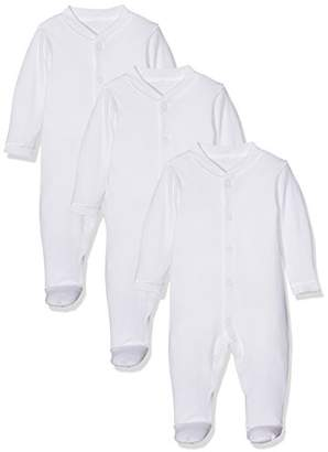 Mothercare Sleepsuits - 3 Pack,up to One Month (Manufacturer Size:56)