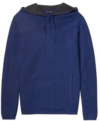Banana Republic Textured Half-Zip Sweater Hoodie with COOLMAX® Technology