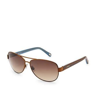 Fossil Jacey Aviator Sunglasses
