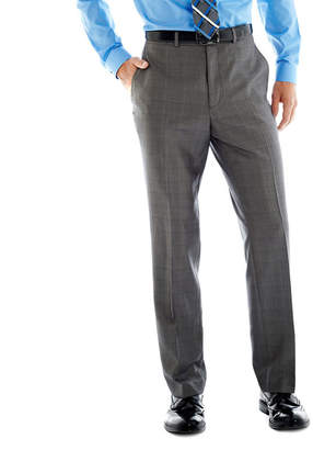 BILLY LONDON Billy London UK Gray Basketweave Suit Pants