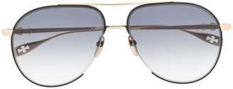 Chrome Hearts aviator style sunglasses
