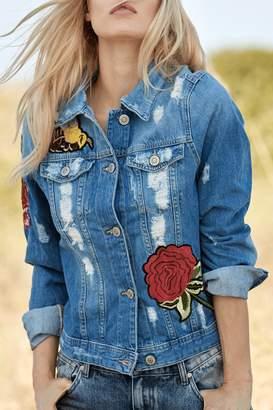 Elan International Embellished Denim Jacket