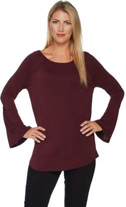 Kelly By Clinton Kelly Kelly by Clinton Kelly Knit Top with Bell Sleeves