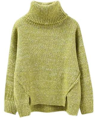 Goodnight Macaroon 'Greta' Roll Neck Chunky Knit Sweater (4 Colors)