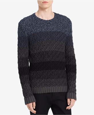 Calvin Klein Jeans Men's Ombre Cable Sweater