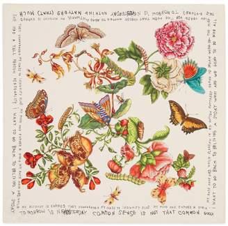 Gucci Garden Coco Capitán print silk scarf
