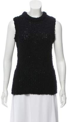 J Brand Sleeveless Knit Sweater