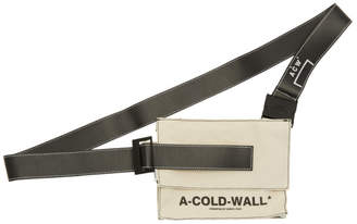 A-Cold-Wall* Biege Canvas Utility Holster Bag