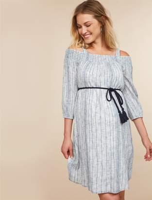 Jessica Simpson Motherhood Maternity Embroidery Maternity Dress