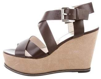 MICHAEL Michael Kors Ankle Strap Wedge Sandals