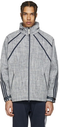 adidas Originals Navy NMD Chambreaker Track Jacket $180 thestylecure.com