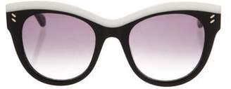 Stella McCartney Oversize Cat-Eye Sunglasses