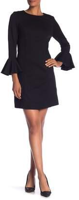 Trina Turk Panache Ruffle Cuff Dress