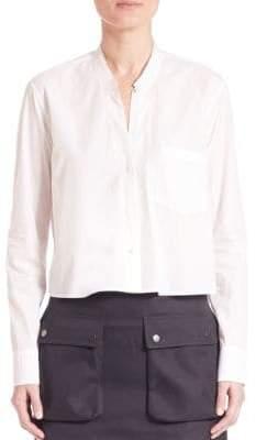 Helmut Lang Cotton Crop Shirt