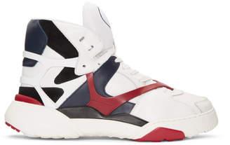 Valentino White Garavani Made One High-Top Sneakers