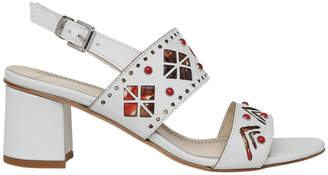 Jessa White Sandal