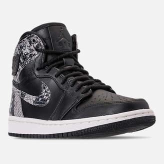 Nike Women's Air Jordan 1 Retro High Premium Casual Shoes