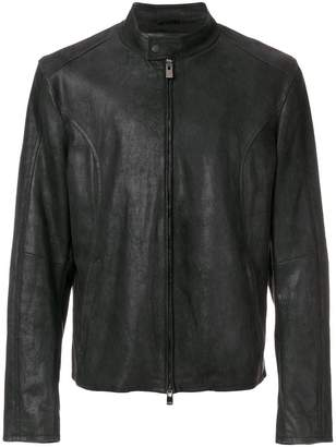 Drome zip up panelled jacket