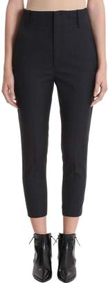 Etoile Isabel Marant Check Cropped Trousers