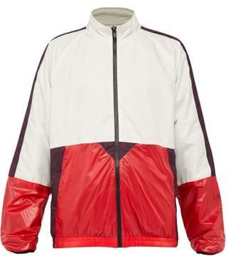 Lanvin Reversible Shell And Cotton Jacket - Mens - Multi