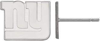 Logoart Women's New York Giants Sterling Silver Post Earrings