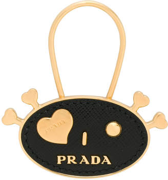 Prada I heart bag charm