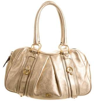 Burberry Leather Ashbury Shoulder Bag Metallic Leather Ashbury Shoulder Bag