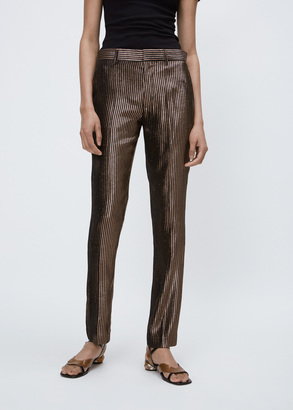 Haider Ackermann phoenix black / piping black classic trousers $1,110 thestylecure.com