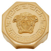 Versace Gold Round Medusa Ring $295 thestylecure.com