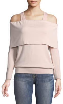 Bailey 44 Soulmate Cold-Shoulder Long-Sleeve Sweatshirt