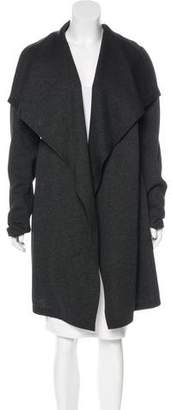 Donna Karan Scuba Knee-Length Coat w/ Tags