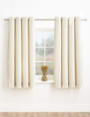 Marks and Spencer Chenille Eyelet Curtains
