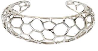 N. Ron Hami Sterling Silver Geo Cuff Bracelet
