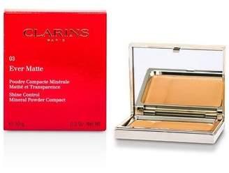 Clarins NEW Ever Matte Shine Control Mineral Powder (# 03 Transparent War)