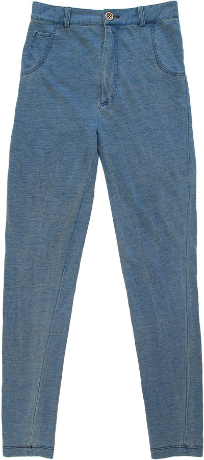 Opening Ceremony Denim look leggings
