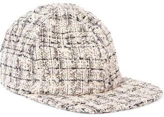 Eugenia Kim Darien Metallic Tweed Baseball Cap - Gray