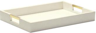 AERIN Shagreen Desk Tray - Cream