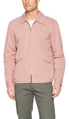 Obey Men's Clubber Station Cropped Jacket