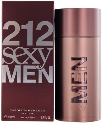 Carolina Herrera Men's 3.4Oz 212 Sexy Men Eau De Toilette Spray