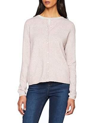 Vero Moda Women's Vmdoffy Ls Short Button Cardigan Noos,8 (Size: X-Small)