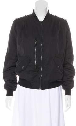 Blank NYC Long Sleeve Bomber Jacket