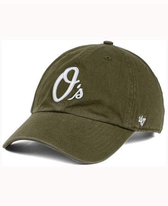 '47 Baltimore Orioles Olive White Clean Up Cap