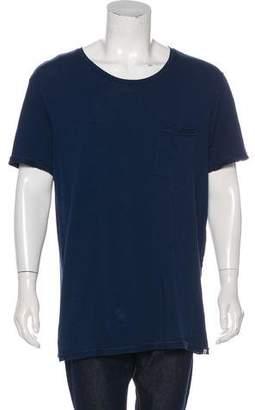 Scotch & Soda Woven Pocket T-shirt