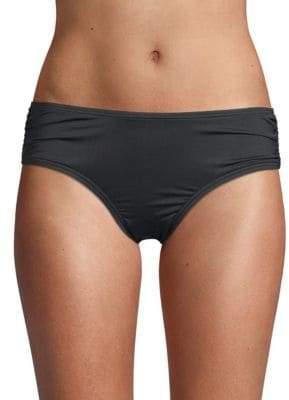 Carmen Marc Valvo Side Draped Bikini Bottom