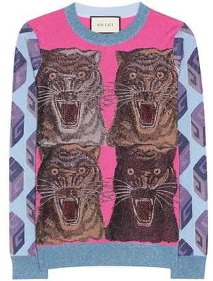 Gucci Brocade sweater