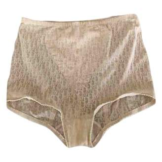 Christian Dior White Cloth Shorts for Women Vintage